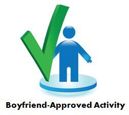 Boyfriend-approved activity